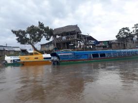 The Yurimaguas boat port.